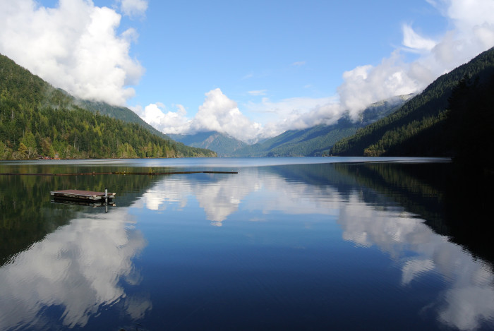 4. Lake Crescent - Olympic National Park