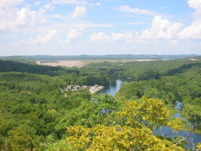 12. Lake Taneycomo: Beautiful vistas and  amazing angling.