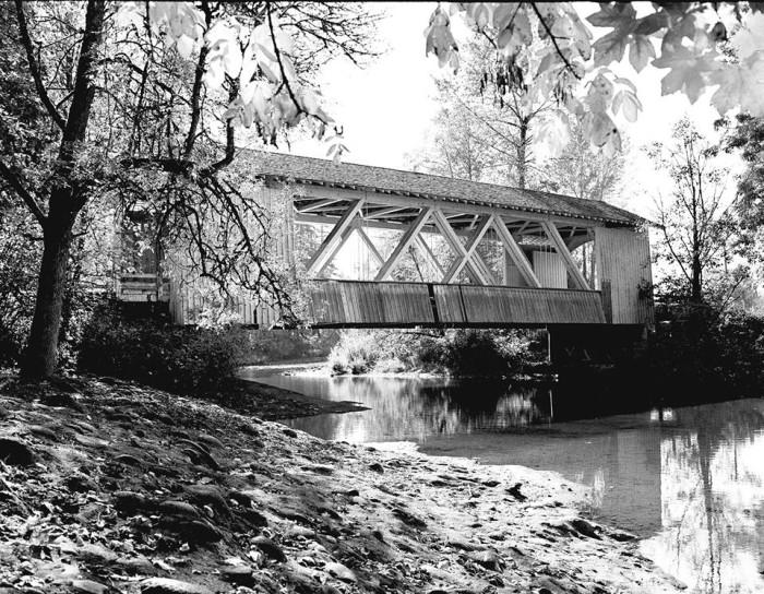 9) Larwood Bridge, slowly becoming antiquity