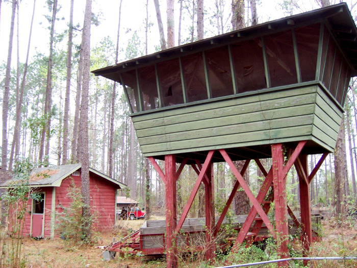 4) Rural Farmhouse Treehouse, Leesville, LA