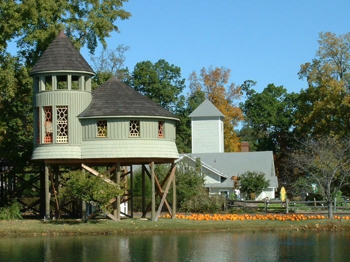 5. The Children's Garden Treehouse at Lewis Ginter Botanical Gardens, Richmond