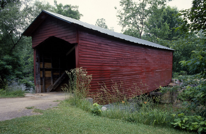 10. Link's Farm Covered Bridge, Giles County