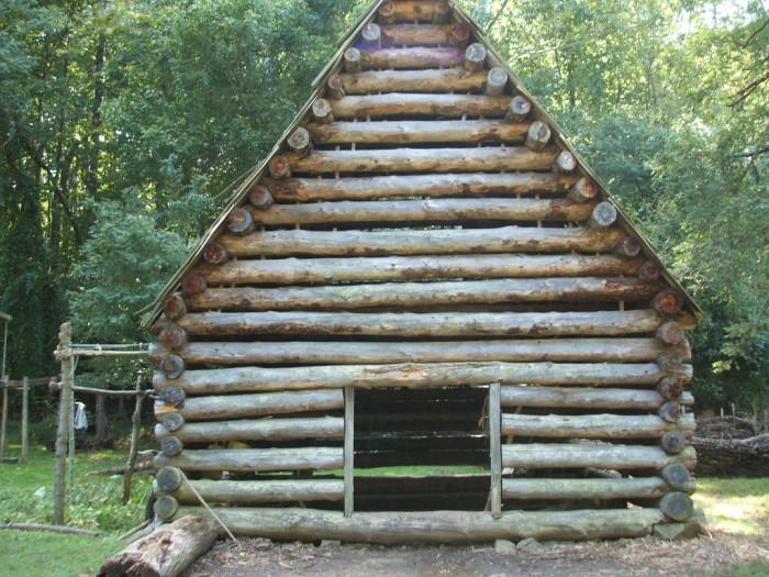 "17. Tobacco Drying ""Barn"" at Claude Moore Colonial Farm"