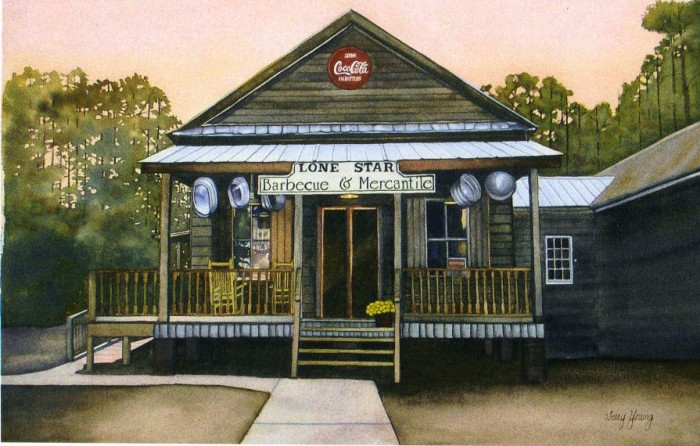 7. Lone Star Barbecue & Mercantile, Santee, SC