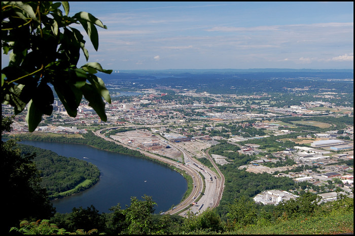 9) Lookout Mountain without a cannon