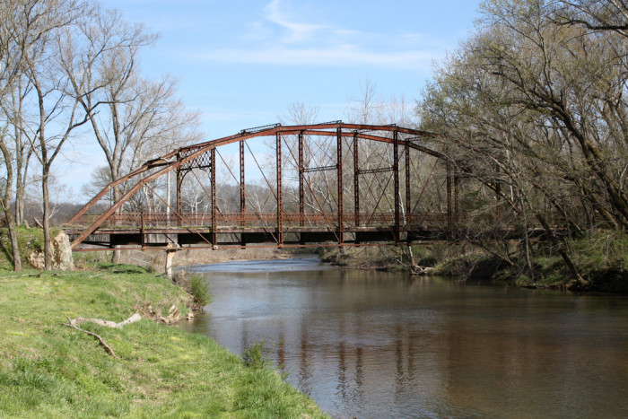 9) The Linton Bridge is a blast from the past.