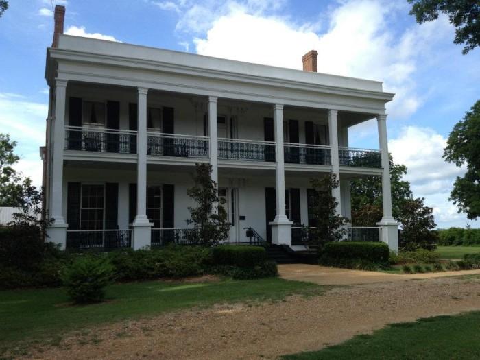 5) Loyd Hall Plantation, Cheneyville, LA