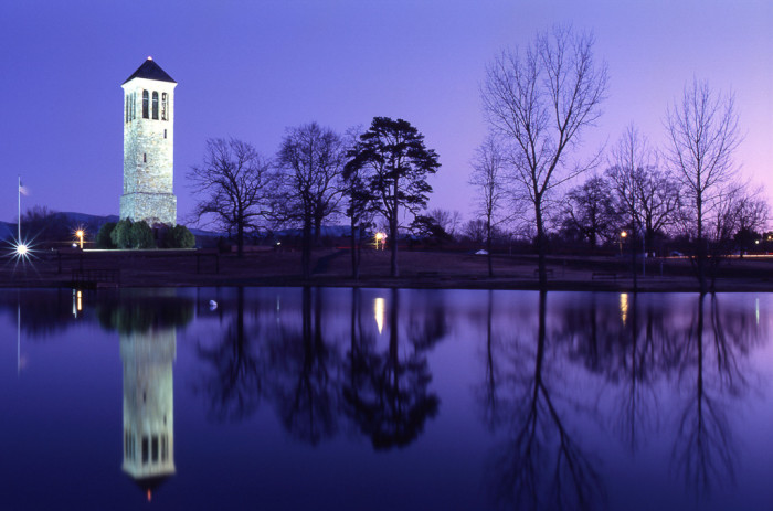 24. The Luray Singing Tower in Luray