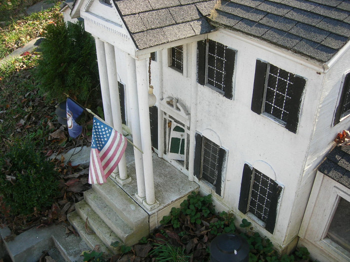 11. A Roanoke couple build a mini-Graceland in their front yard. Long live the King!