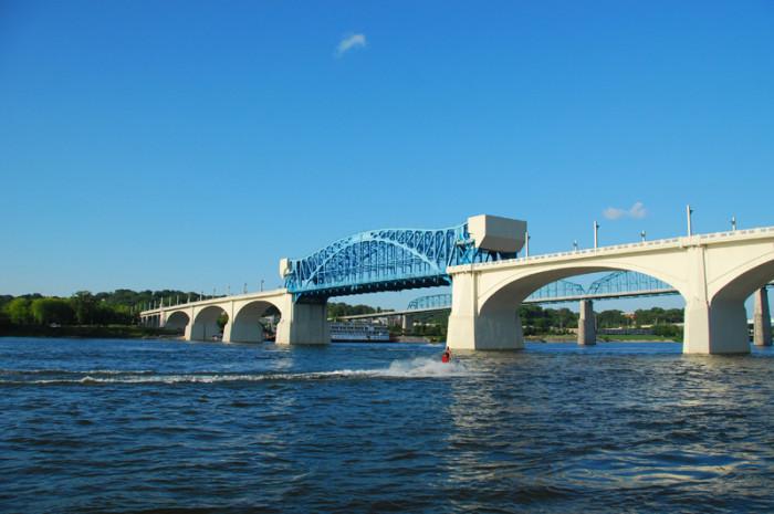 Market Street Bridge - Chattanooga