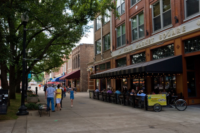 5) Market Square - Knoxville