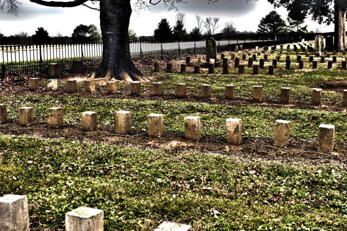 5) McGavock Confederate Cemetery - Franklin