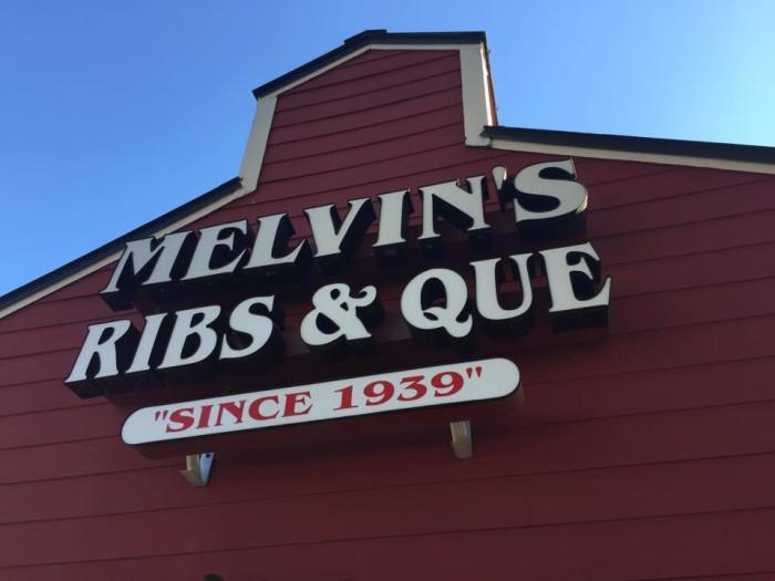 20. Melvin's Legendary Barbecue, Mt. Pleasant, SC