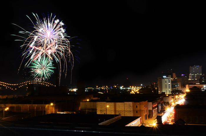 3) 4th of July Celebration - Memphis