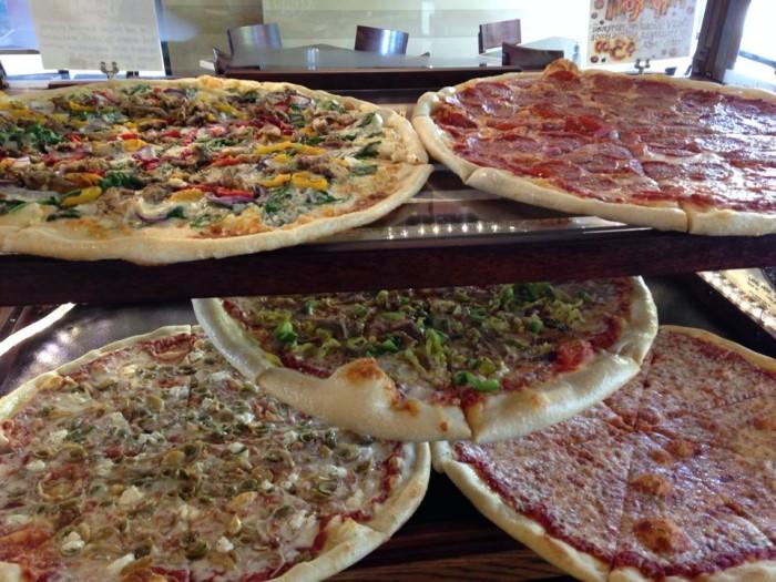 Mezza Luna Pizzeria pizza