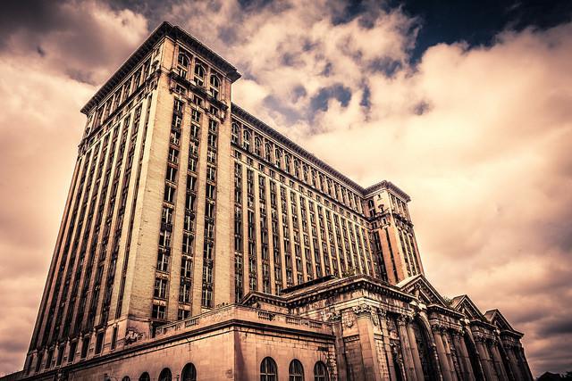 6) Michigan Central Station, Detroit