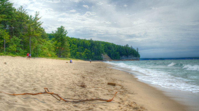 8) Miners Beach, Pictured Rocks National Lakeshore, Shingleton