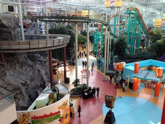 2 Mall of America - Minnesota does shopping right with an amusement park and mini golf course. After all, Minnesota invented the indoor mall.