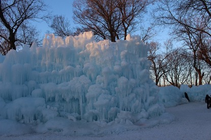 4 Ice Castles - When life gives them subzero winters, Minnesotans make an ice castle worthy of Elsa herself.
