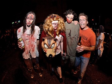18 Zombie Pub Crawl - The original brain eating, record setting night in all its gory, I mean glory.