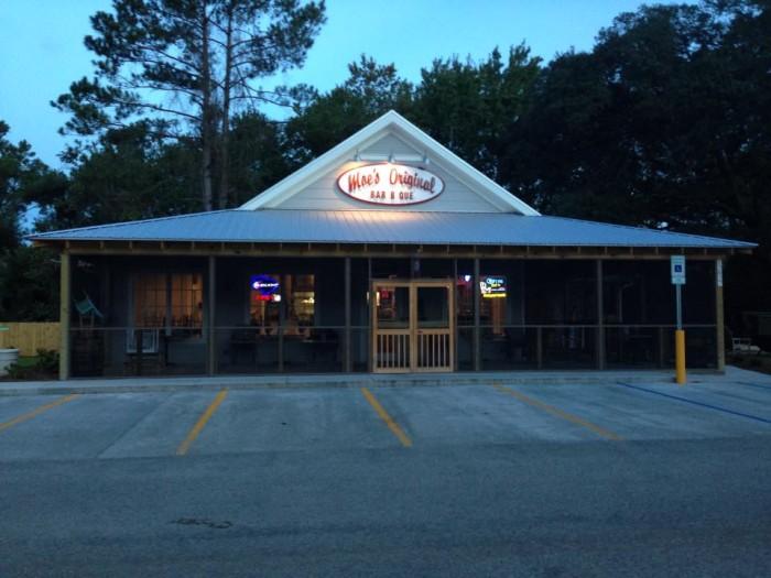 10. Moe's Original Bar-B-Que, Pawley's Island, SC