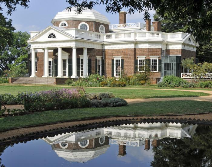 4. Monticello, Charlottesville
