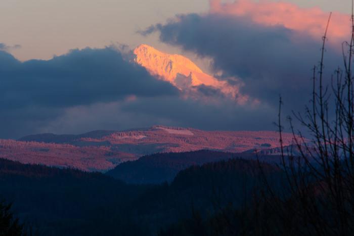 4) Mount Hood National Forest