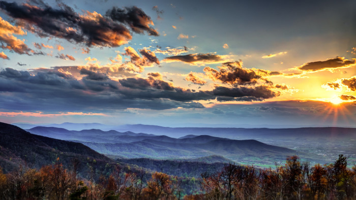 3. Mountains. Sigh. It just doesn't get much better than the Blue Ridge.