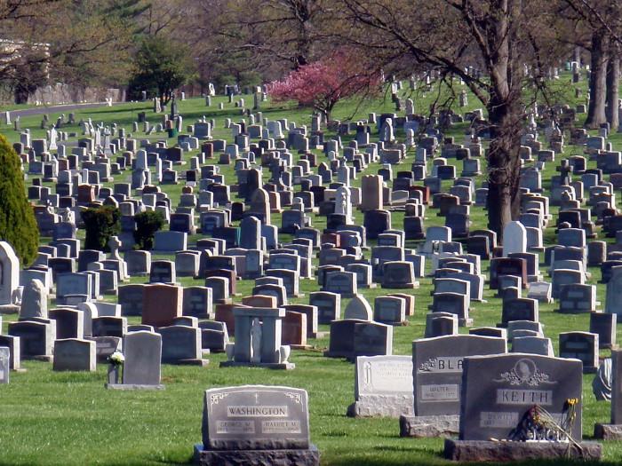 4) Mt. Olivet Cemetery - Nashville