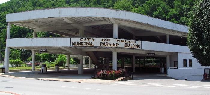7. First municipally owned parking garage