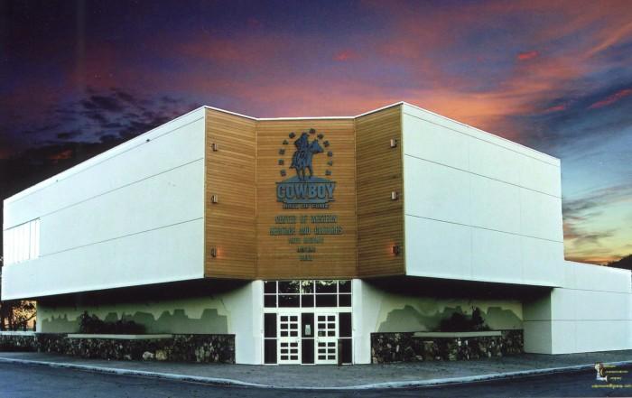 3. North Dakota Cowboy Hall of Fame - Medora, ND