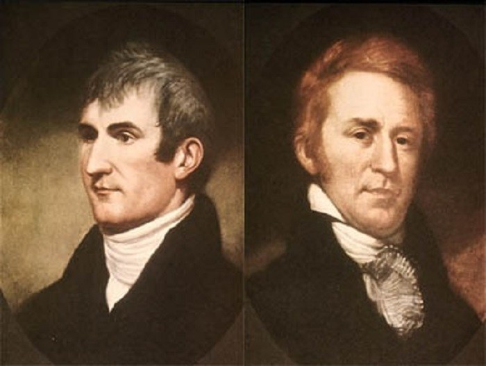 9. LEWIS & CLARK: While on their expedition, Lewis and Clark spent more time in North Dakota than in any other state.