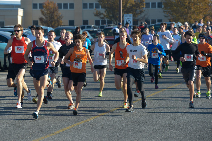 4. Challenge yourself to a 5K.