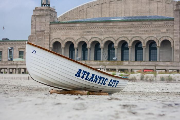 6. Forgo sleep in Atlantic City.