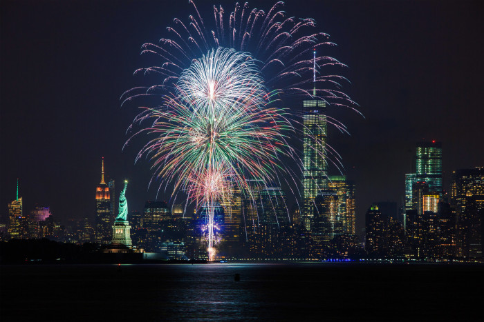 8. Stop by Jersey City's Freedom Fest.