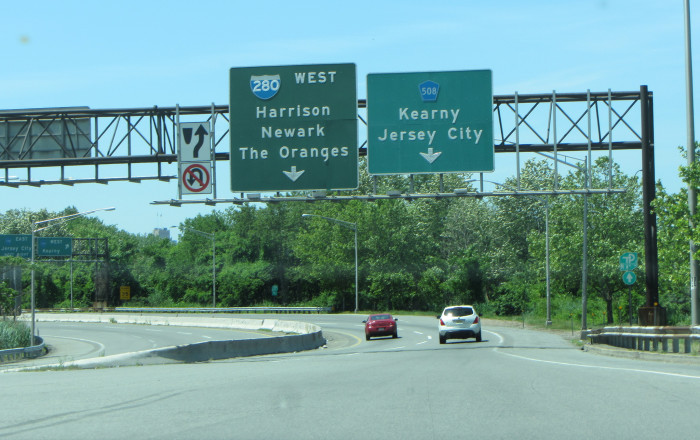 3. The name of your town isn't listed on the highway exit sign.