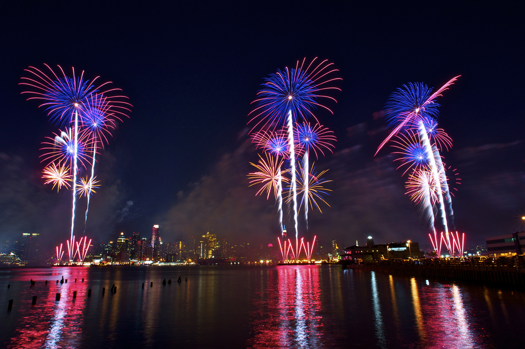 The Best Fireworks Shows In New Jersey