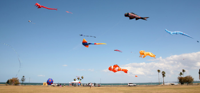 11. Enjoy old fashioned fun at the Kite Festival.