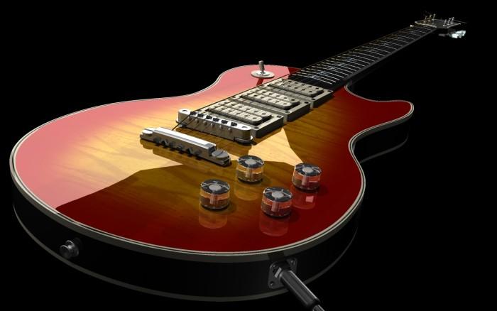 8. Les Paul Guitars