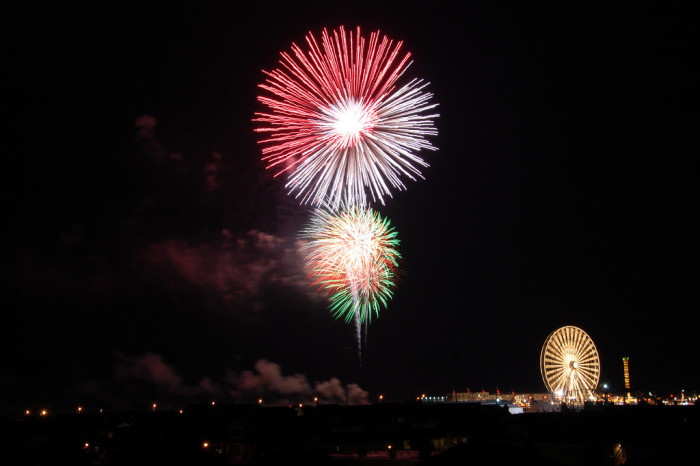 13. Meadowlands Fair + Fireworks, East Rutherford