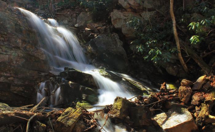 1. Silver Spray Falls