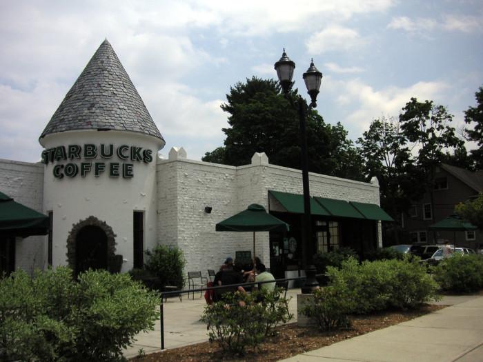 9. Starbucks Castle, Glen Rock