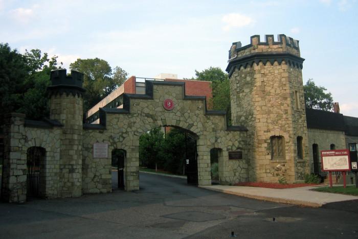 3. Steven's Castle Gate, Hoboken