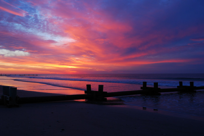 photos of beautiful sunrises in new jersey