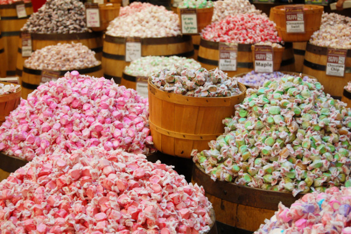 3. Salt Water Taffy Was Invented In New Jersey.