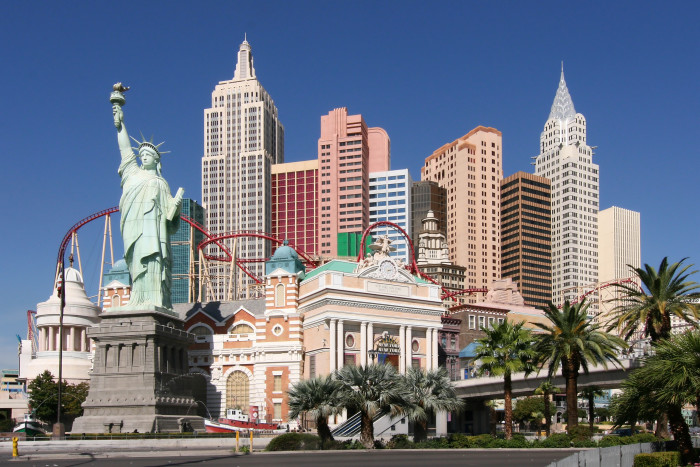 12. The AMAZING New York City skyline at the New York-New York Hotel & Casino in Las Vegas, Nevada.