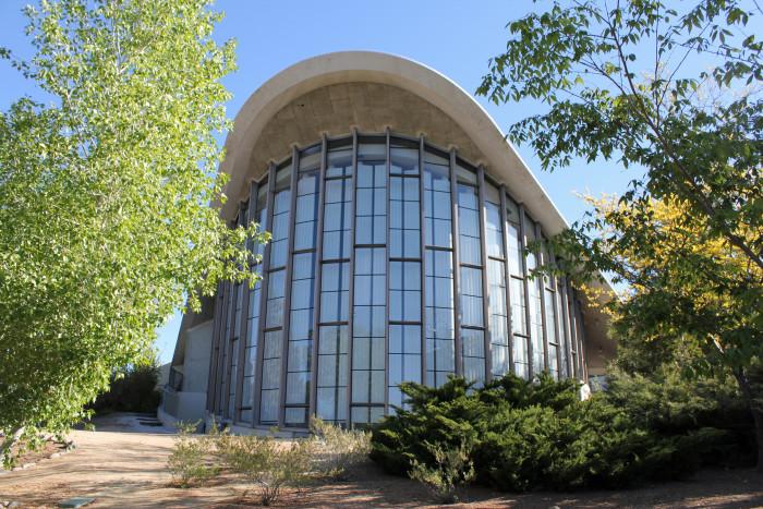 9. Fleischmann Planetarium & Science Center in Reno, Nevada.