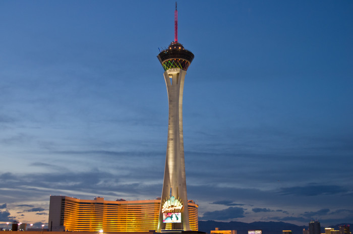 6. Stratosphere Tower