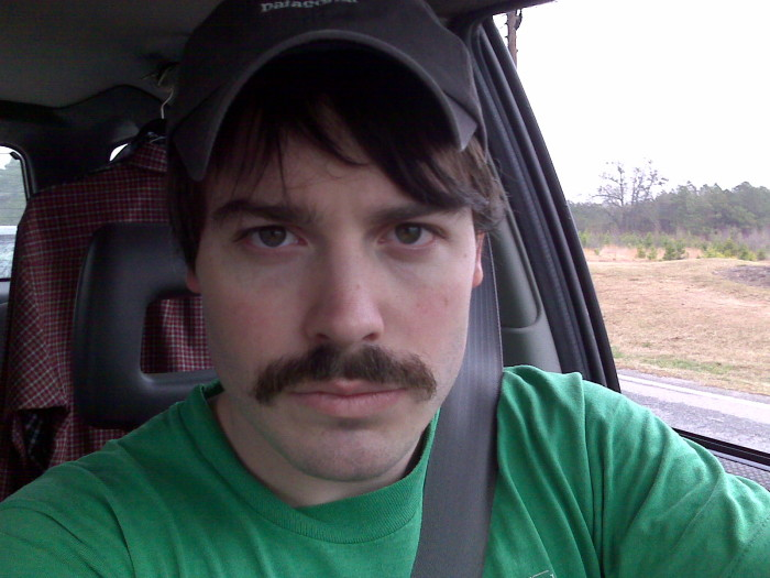 9. In Eureka, men who have mustaches are forbidden from kissing women.