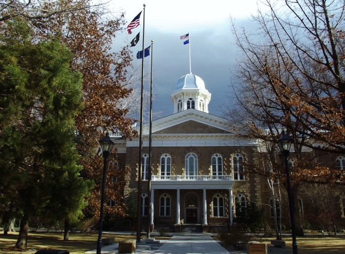 1. Carson City is one of only two U.S. capital cities that borders another state.